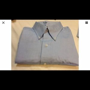 club room men blue shirt 17 1/2 34/35